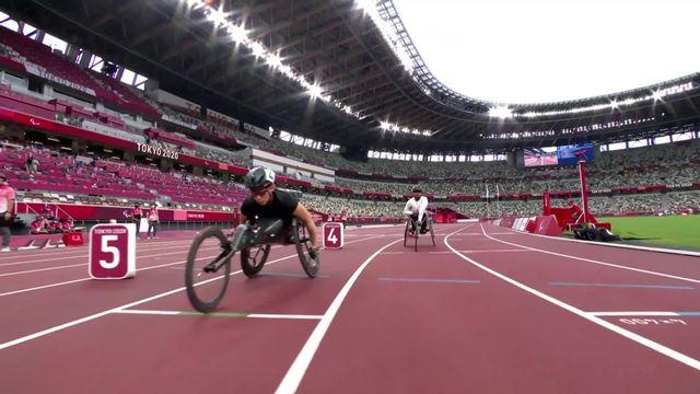 Paralympiques, athlétisme, qualifs 800m T53: Eachus (SUI) s'arrête là [RTS]