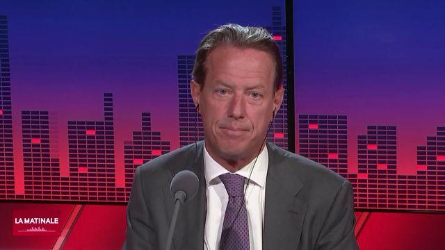 L'invité de La Matinale (vidéo) - Christian Lüscher, conseiller national PLR genevois [RTS]