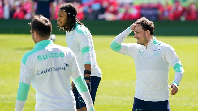 Murat Yakin devra composer avec des attaquants hors de forme et sans Mbabu, blessé, pour sa première à la tête de l'équipe de Suisse. [Claudio Thoma - Freshfocus]