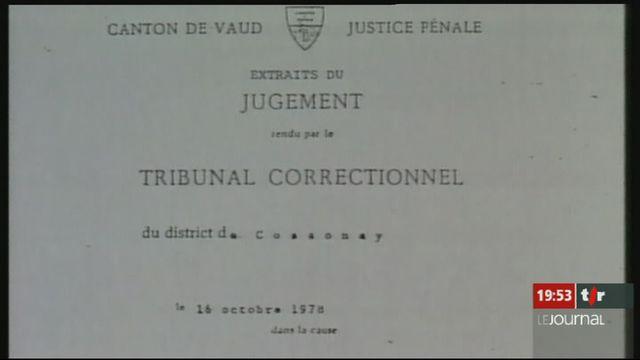 Arrestation du fils de Guy-Claude Burger pour pédophilie [RTS]