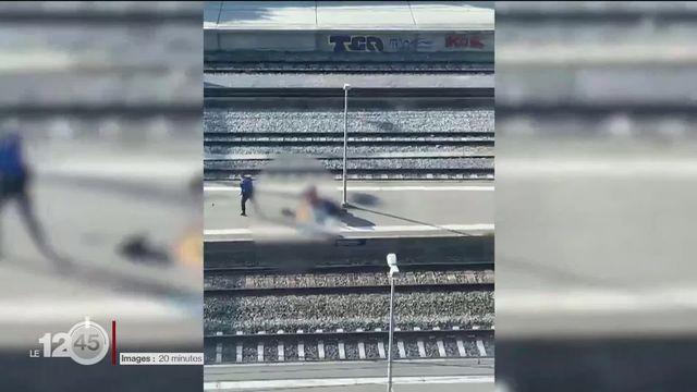 La police tue un homme agité à la gare de Morges [RTS]