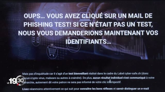 La cyberattaque de Rolle relance l'intérêt des pouvoirs publics pour d'avantage de sécurité informatique. [RTS]