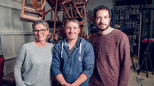 Belmont-Broye (FR). Avec Sabine Pirat et Romain Buchs [RTS]