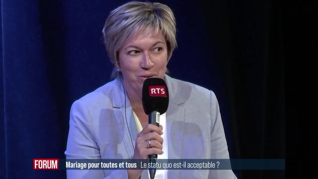 Débat sur le mariage pour tou.te.s (1-4): le statu quo est-il acceptable? [RTS]