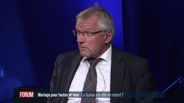 Débat sur le mariage pour tou.te.s (2-4): la Suisse est-elle en retard? [RTS]