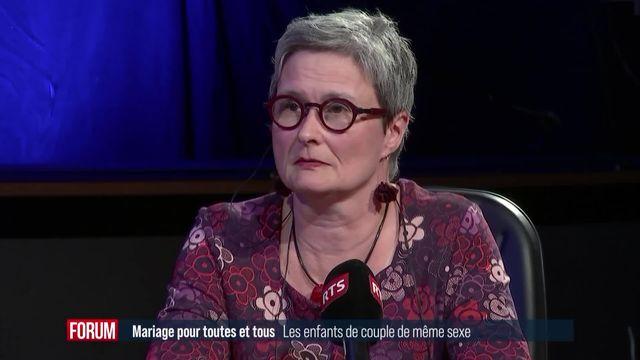 Débat sur le mariage pour tou.te.s (3-4): les enfants de couple de même sexe [RTS]