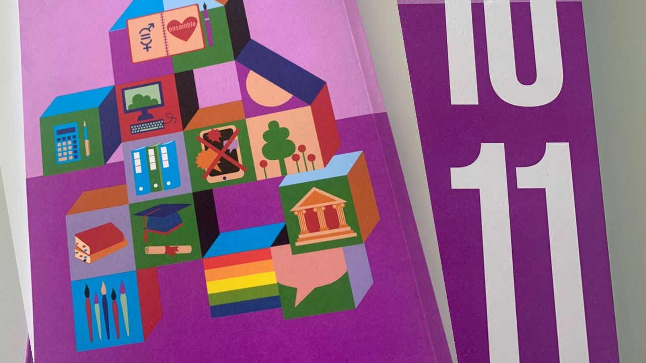 Le nouvel agenda scolaire des classes vaudoises de 9, 10 et 11ème [Katia BITSCH - RTS]
