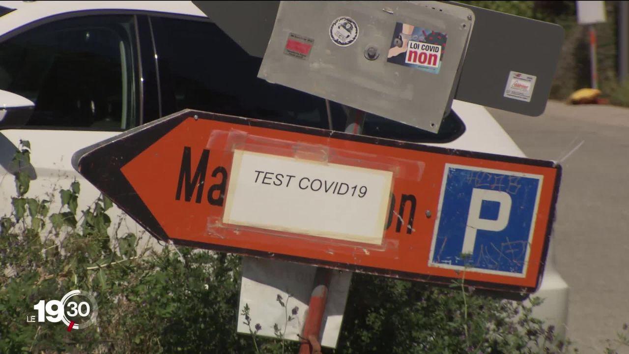 A Neuchâtel, un laboratoire de tests covid est soupçonné d'avoir delivré des resultats qui ne respectent pas les procédures. [RTS]
