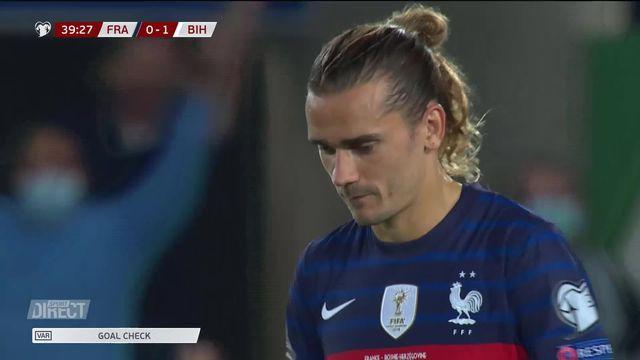 France – Bosnie (1-1): la France cale face à la Bosnie de Dzeko [RTS]