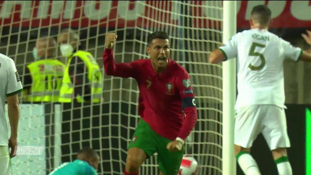 Portugal – Irlande (2-1): Cristiano Ronaldo devient le meilleur buteur de l'histoire des sélections! [RTS]