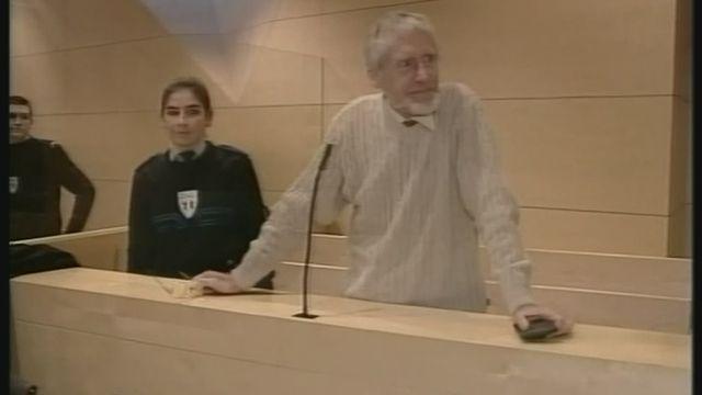Verdict à l'encontre de Guy Claude Burger [RTS]
