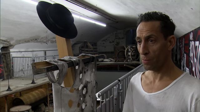 Le chorégraphe et comédien zurichois Martin Zimmermann. [Couleurs locales - RTS]