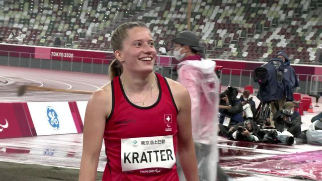 Paralympiques, athlétisme, longueur T63: H. Kratter (SUI) s'empare de la troisième place [RTS]