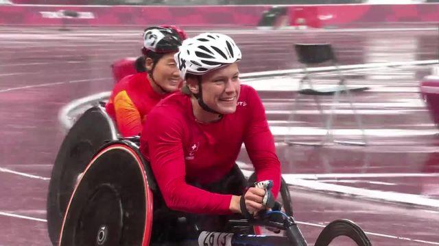 Paralympiques, athlétisme, 400m T53 féminin: La victoire pour C. Debrunner (SUI) [RTS]