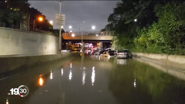 New York en état d'alerte après le passage de l'ouragan Ida. Au moins 13 victimes ont perdu la vie. [RTS]