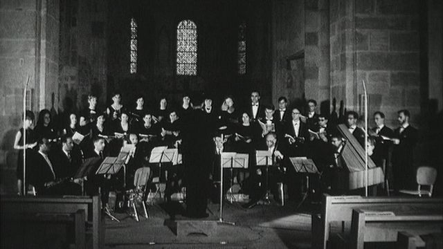 Monteverdi à l'abbatiale de Payerne [RTS]