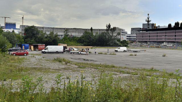 Le festival d'Alba devait avoir lieu sur la place du Hardturm (photo du 31 juillet 2021). [Walter Bieri - Keystone]