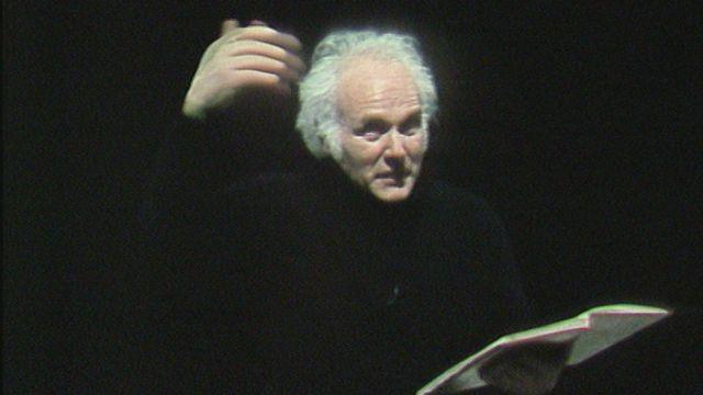 Michel Corboz travaille avec l'Ensemble vocal et instrumental de Lausanne [RTS]