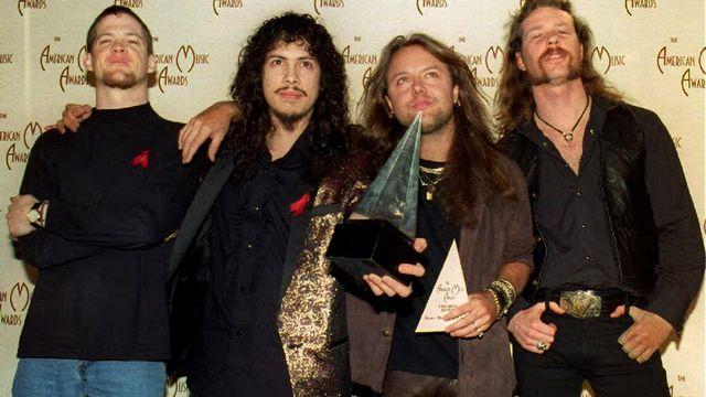 Metallica. [VINCE BUCCI - AFP]