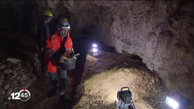 Sur les traces de l'homme de Néandertal dans le Val-de-Travers (NE) [RTS]