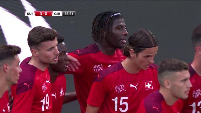 U21, Suisse - Gibraltar (4-0): les rougets gagnent facilement à Tourbillon [RTS]