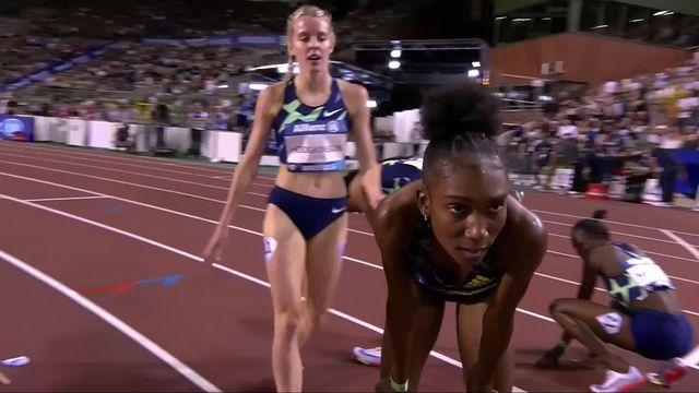Mémorial Van Damme (BEL), 800m dames : la victoire pour N. Goule (JAM) [RTS]