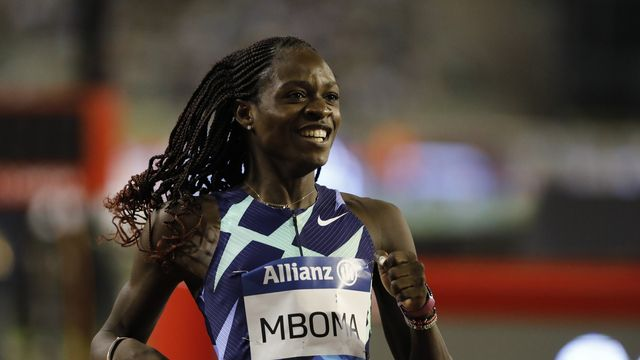 Mboma a réussi une très belle performance sur le 200m. [Julien Warnand / EPA - Keystone]