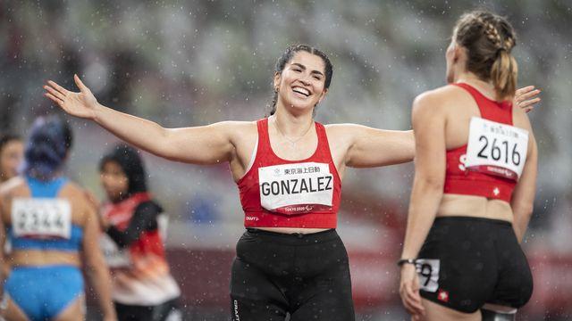 Elena Kratter et Sofia Gonzalez n'ont rien pu faire face au trio italien. [Ennio Leanza - Keystone]