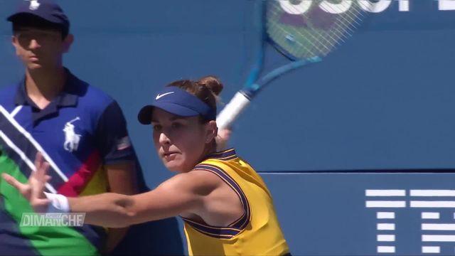 Tennis: Belinda Bencic démarre fort à l'US Open [RTS]