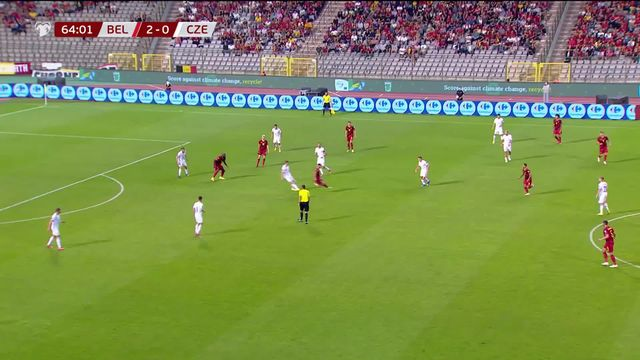 Gr. E, Belgique - République Tchèque (3-0): résumé de la victoire belge [RTS]