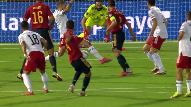 Gr. B, Espagne - Géorgie (4-0): toutes les réussites espagnoles de la rencontre [RTS]