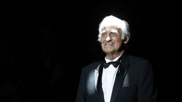 Jean-Paul Belmondo photographié lors de la cérémonie des Césars en 2017. [Thibault Camus - AP Photo]