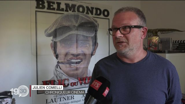 """Julien Comelli réagit au décès de Jean-Paul Belmondo: """"On est au-delà du mythe, ce personnage est une légende."""" [RTS]"""
