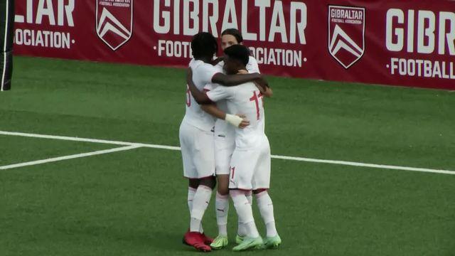 U21, Gibraltar - Suisse (0-4): succès logique de l'équipe de Suisse [RTS]