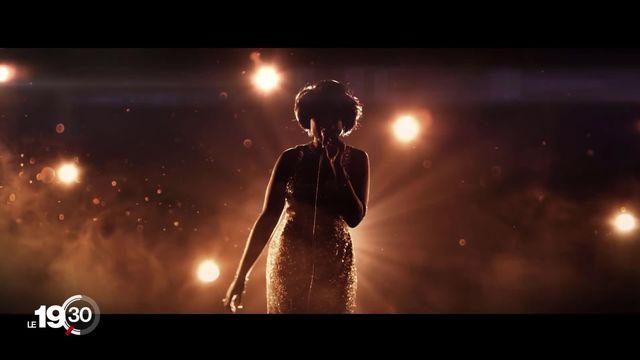 """Le film """"Respect"""" retrace la vie d'Aretha Franklin. L'icône américaine de la soul n'est pas la seule à faire l'objet d'un biopic [RTS]"""