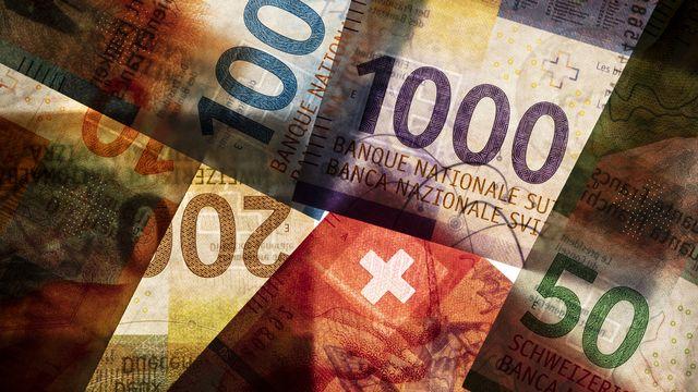 La neuvième série des billets de banque suisses. [Gaëtan Bally - Keystone]
