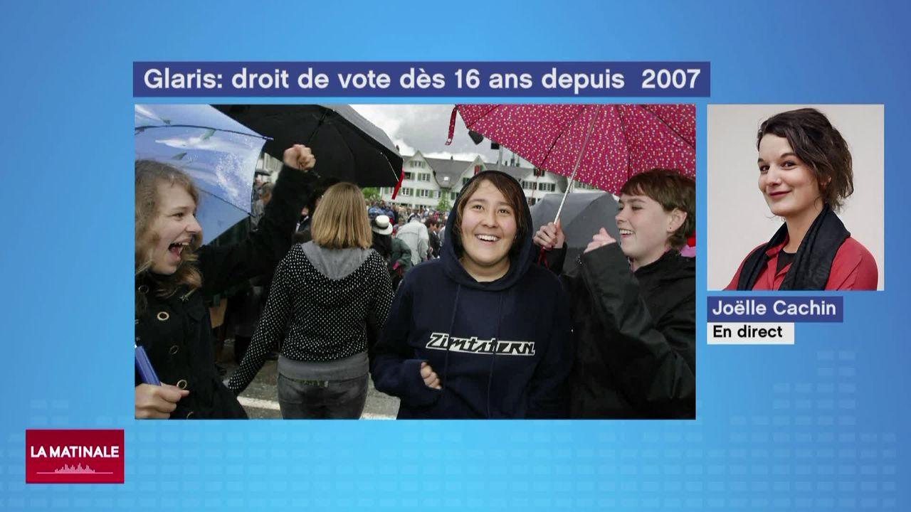 Zoom (vidéo) - Le droit de vote à 16 ans [RTS]