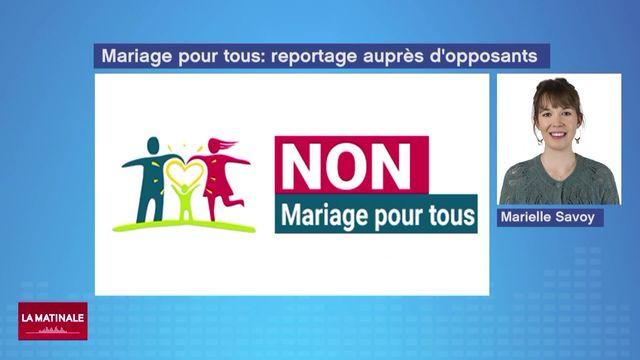 L'UDC, l'UDF et le parti évangélique contre l'initiative du mariage pour tous (vidéo) [RTS]