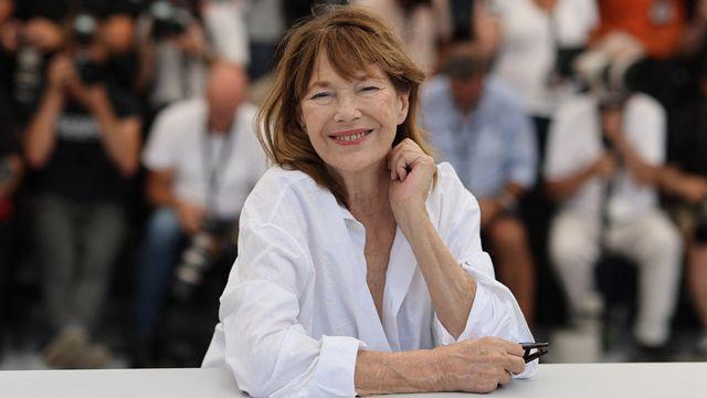 La chanteuse et actrice anglaise Jane Birkin pose lors du Festival de Cannes en 2021. [Valery HACHE / AFP]