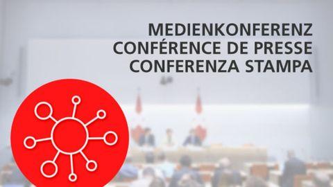 Conférences de presse de la Confédération