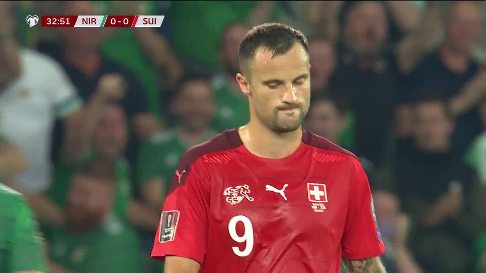 Gr.C, Irlande du Nord – Suisse (0-0): une triste Suisse se rate à Belfast [RTS]