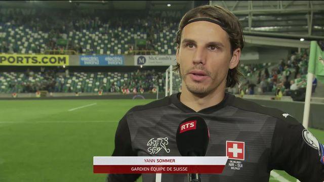 Gr.C, Irlande du Nord – Suisse (0-0): réaction de Yann Sommer après la contre-performance [RTS]