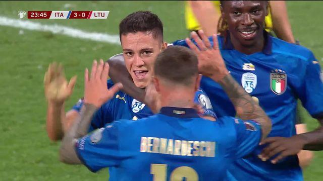 Gr.C, Italie – Lituanie (5-0): la Squadra Azzurra retrouve son efficacité [RTS]
