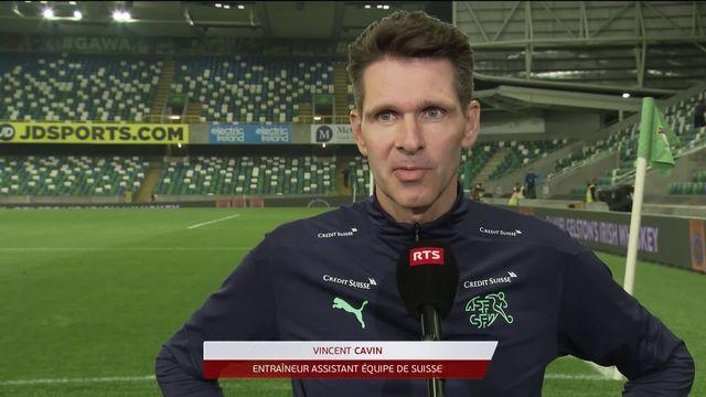 Gr.C, Irlande du Nord – Suisse (0-0): Vincent Cavin, assistant de Yakin, relativise après le nul [RTS]