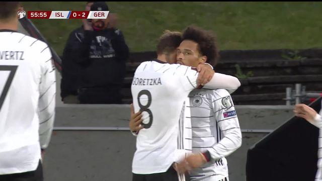 Gr.J, Islande – Allemagne (0-4): la Mannschaft de Hansi Flick cartonne en Islande [RTS]