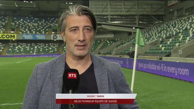 Gr.C, Irlande du Nord – Suisse (0-0): l'interview de Murat Yakin après le match [RTS]