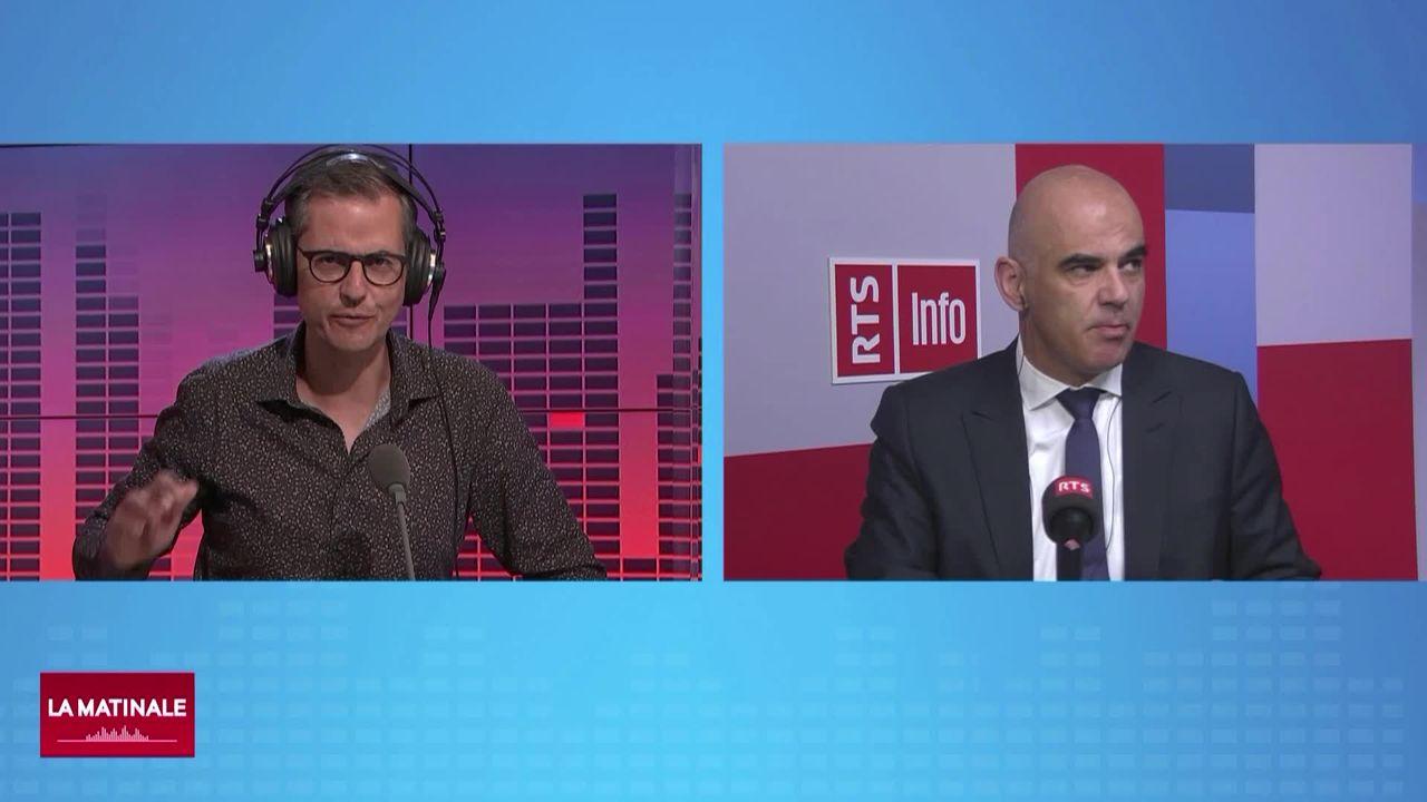 L'invité de La Matinale (vidéo) - Alain Berset, conseiller fédéral en charge de la santé [RTS]