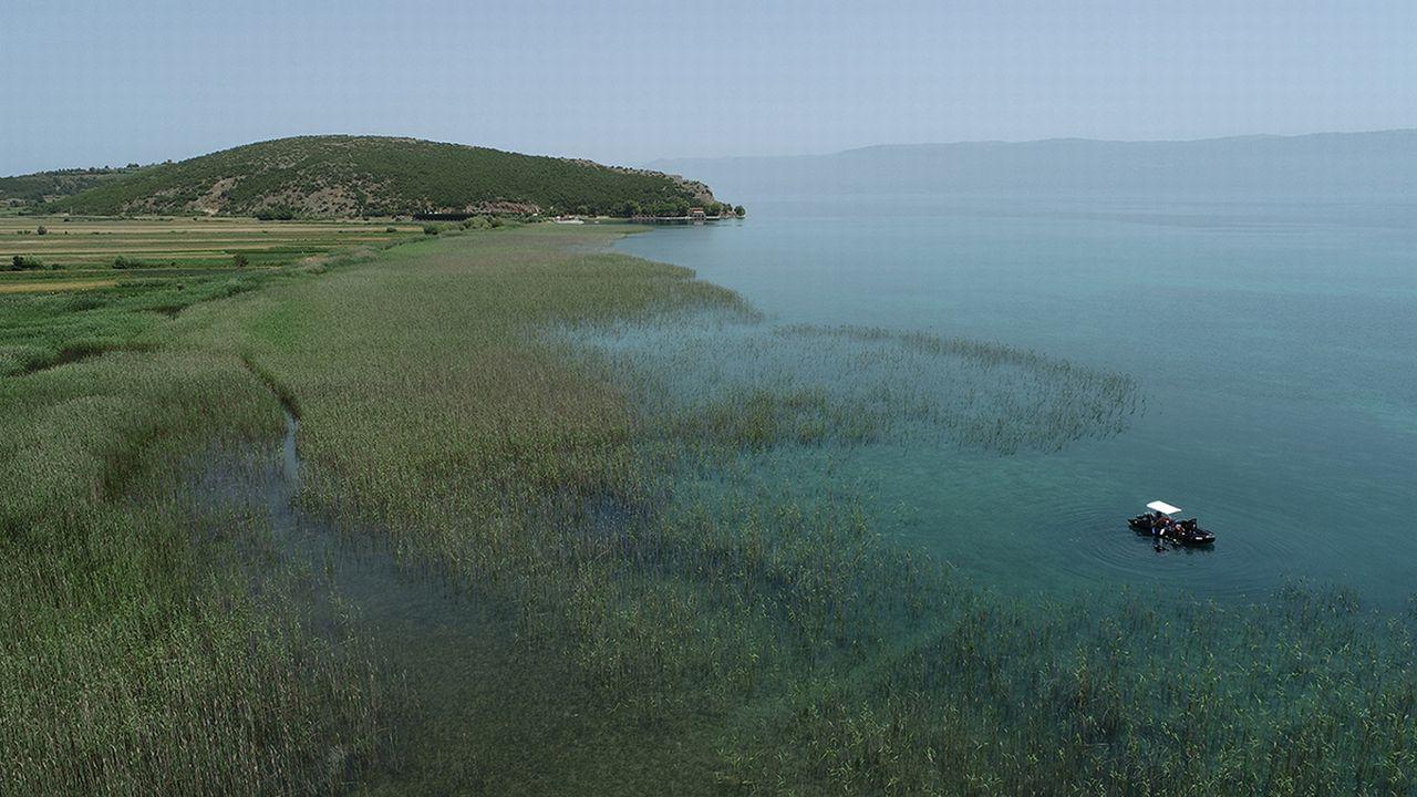 Les rives du lac Ohrid en été 2021. Img avec CP Unibe Johannes Reich Unibe [Johannes Reich - Unibe]