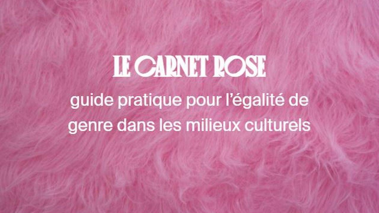 """Visuel du """"Carnet rose"""" du festival Les Créatives. [Les Créatives]"""