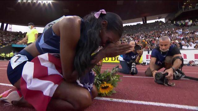 Finale, 400m dames: Hayes (USA) remporte la course [RTS]